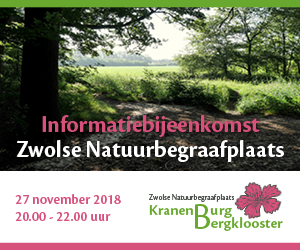 Uitnodiging:Informatiebijeenkomst Zwolse Natuurbegraafplaats